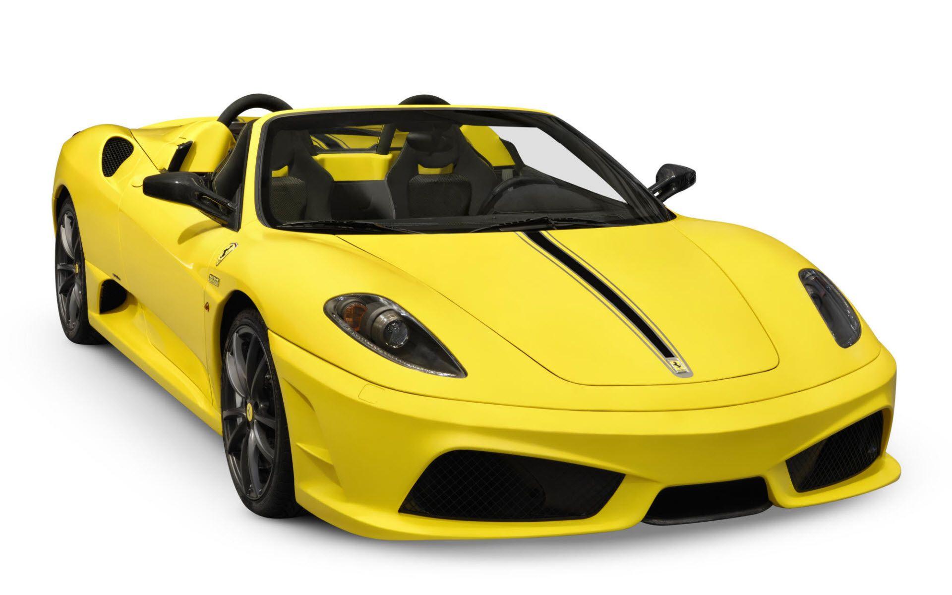 Yellow Ferrari - Sacheez Travel