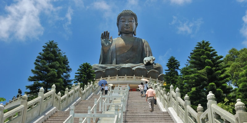 Lantau Island and Giant Buddha